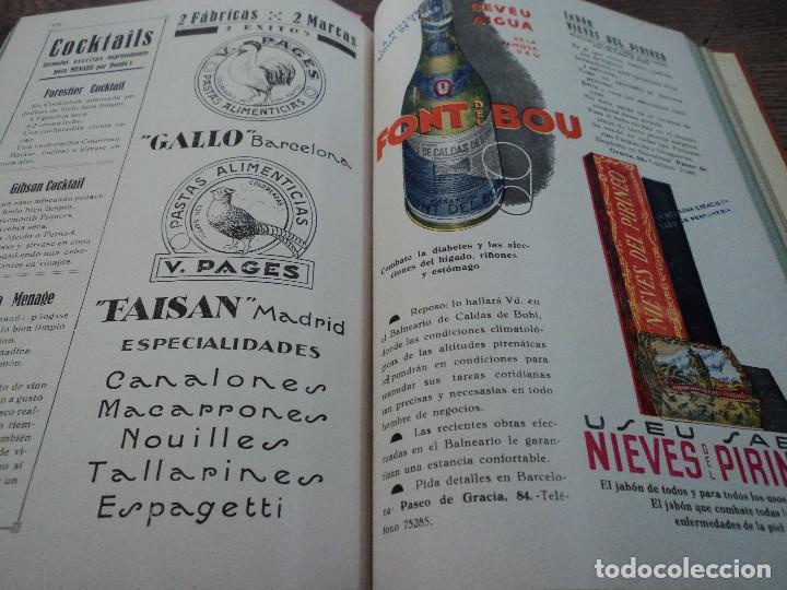 Libros antiguos: revistas recetas de cocina menage encuadernadas no orden correlativo 1932/34 - Foto 12 - 62066160