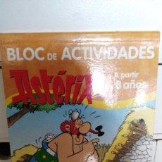 Libros antiguos: BLOC DE ACTIVIDADES ASTÈRIX. A PARTIR DE 8 AÑOS. Lote 62182688
