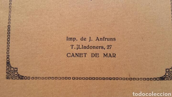 Libros antiguos: Estatutos de la Sociedad Mutualidad Canetense. Canet de Mar - Foto 2 - 62182692