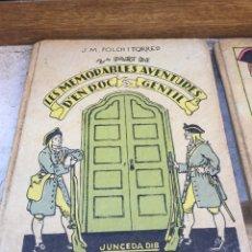 """Libros antiguos: LES MEMORABLES AVENTURES D'EN ROC GENTIL. BIBLIOTECA """"PATUFETS""""1922. Lote 62191195"""