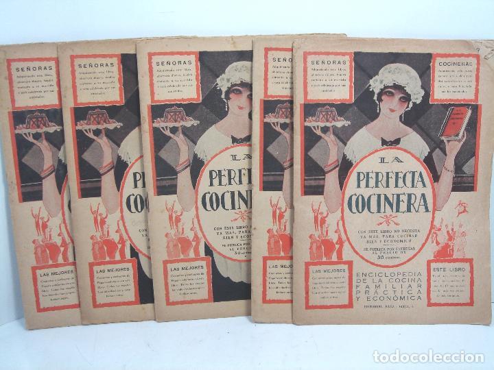 Libros antiguos: LIBRO 19X ENTREGAS - LA PERFECTA COCINERA - ENCICLOPEDIA COCINA ECONOMICA - PAEZ 1928 - COLECCION - Foto 2 - 193759626