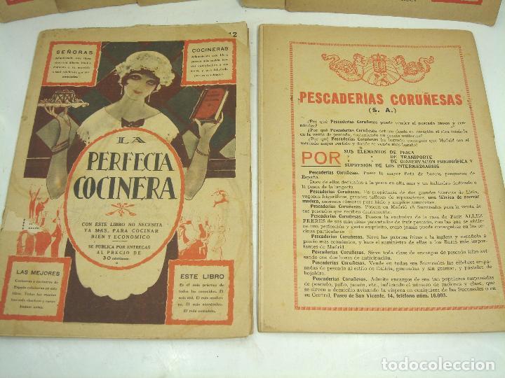 Libros antiguos: LIBRO 19X ENTREGAS - LA PERFECTA COCINERA - ENCICLOPEDIA COCINA ECONOMICA - PAEZ 1928 - COLECCION - Foto 3 - 193759626