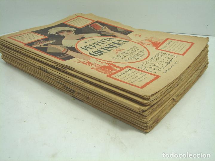 Libros antiguos: LIBRO 19X ENTREGAS - LA PERFECTA COCINERA - ENCICLOPEDIA COCINA ECONOMICA - PAEZ 1928 - COLECCION - Foto 4 - 193759626