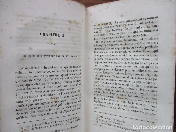 Libros antiguos: L'ART DE DÉCOUVRIR LES SOURCES. L'ABBÉ PARAMELLE. 1856. - Foto 4 - 62280776