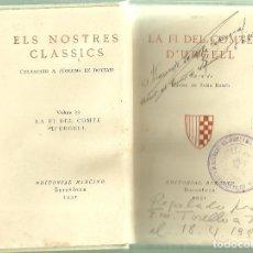 Libros antiguos: 2387.- C.A.D.C.I.-JUAN ANTONIO SAMARANCH-FRANCESC TORELLO-LLIBRE ROBAT EL 6 D`OCTUBRE DE 1934. Lote 62498764