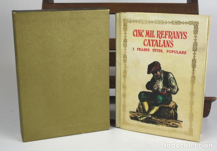 8050 - CINC MIL REFRANYS CATALANS. EJEMPLAR Nº 93. VV. AA. EDIT. MILLÁ. 1965. (Libros Antiguos, Raros y Curiosos - Pensamiento - Otros)