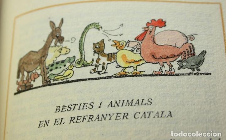 Libros antiguos: 8050 - CINC MIL REFRANYS CATALANS. EJEMPLAR Nº 93. VV. AA. EDIT. MILLÁ. 1965. - Foto 7 - 62528732