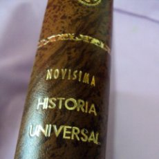 Libros antiguos: NOVISIMA HISTORIA UNIVERSAL EDITADA EN EL AÑO (1908). Lote 62644200