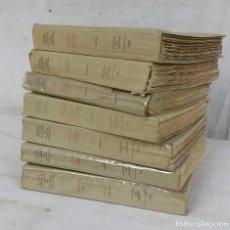 Alte Bücher - 7 OBRAS DE GEORGES COURTELINE, ILUSTRADOS, 56 ACUARELAS DE JOSEPH HEMARD, AÑO 1934, 500 COPIAS - 102352451