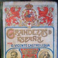 Libros antiguos: VICENTE CASTRO LEGUA. GRANDEZAS DE ESPAÑA VI. 1909. Lote 62763944