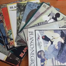 Libros antiguos: REVISTAS BLANCO Y NEGRO. Lote 62777263
