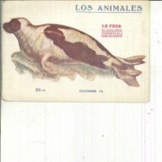 Libros antiguos: LA FOCA. SU NATURALEZA, COSTUMBRES Y MODO DE CAZARLA.. Lote 62947264
