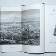 Libros antiguos: ROME ANCIENNE ET MODERNE - MARY LAFON // 1857, PARIS, FURNE. Lote 63300600