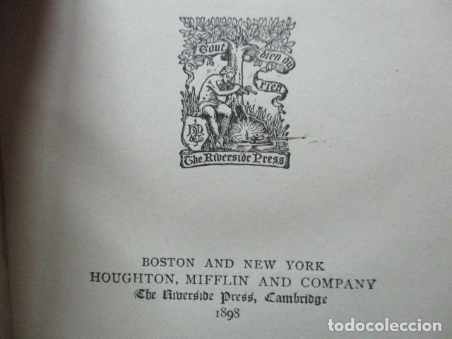 Libros antiguos: ESSAYS / RALPH WALDO EMERSON, alrededor 1906, Two volumes in one. Ver fotos. - Foto 8 - 63453164