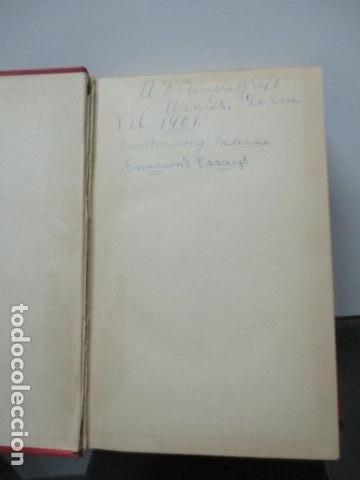 Libros antiguos: ESSAYS / RALPH WALDO EMERSON, alrededor 1906, Two volumes in one. Ver fotos. - Foto 11 - 63453164
