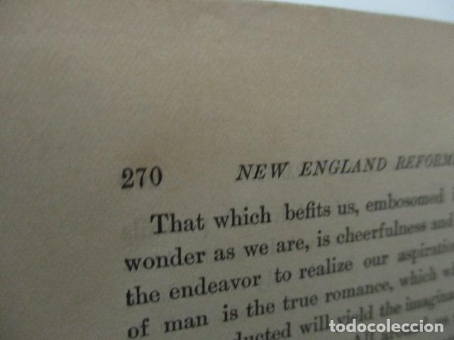 Libros antiguos: ESSAYS / RALPH WALDO EMERSON, alrededor 1906, Two volumes in one. Ver fotos. - Foto 13 - 63453164
