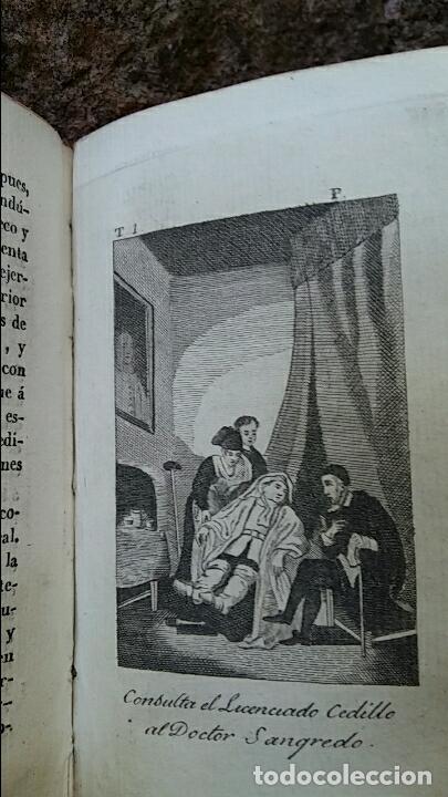 Libros antiguos: ANTIGUO LIBRO LAS AVENTURAS DE GIL BLAS DE SANTILLANA. TOMO PRIMERO 1830. CONTIENE LAmINAS - Foto 2 - 63462016