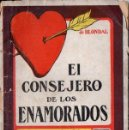 Libros antiguos: BLONDAL : EL CONSEJERO DE LOS ENAMORADOS (EDICIONES ESPAÑOLAS. C. 1930). Lote 63627139