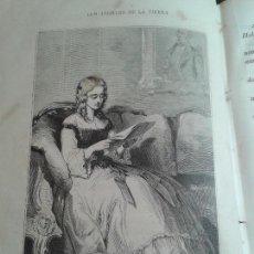 Libros antiguos: LOS ANGELES DE LA TIERRA, NOVELA DE COSTUMBRES. TOMO SEGUNDO. LIBRO DE ENRIQUE PÉREZ ESCRICH (1875). Lote 63795939