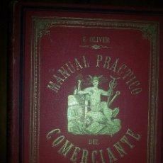 Libros antiguos: MANUAL PRÁCTICO DEL COMERCIANTE 1896. Lote 63823807