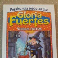 Libros antiguos: VERSOS FRITOS GLORIA FUERTES SUSAETA. Lote 63911399