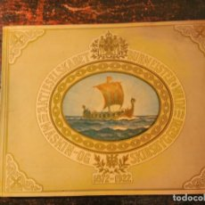 Libros antiguos: BURMEISTER WAIN LIBRO 50 ANIVERSARIO ASTILLERO 1872-1922 BARCO BUQUE ARQUITECTURA NAVAL MOTORES. Lote 64013251