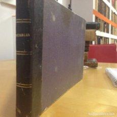 Libros antiguos: 1890? .- LIBRO CATALOGO DE LAMINAS DE MUEBLES. SIGLO XIX. UNAS 100 LÁMINAS.. Lote 64048615
