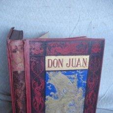 Libros antiguos: DON JUAN EL HIJO DE DOÑA INÉS POEMA DE LORD BYRON SEGUIDO DE LAS LAMENTACIONES DE TASSO. Lote 64060807