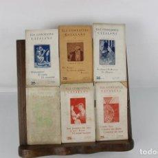 Libros antiguos: 5140 -ELS CONTISTES CATALANS. IMP. L'AVENÇ GRAFIC. 6 TITULOS. 1924.. Lote 45201091