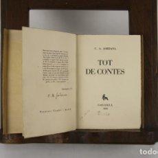 Libros antiguos: 5147- TOT DE CONTES. A. JORDANA. EDIT. C. A. JORDANA. 1929.. Lote 45202819