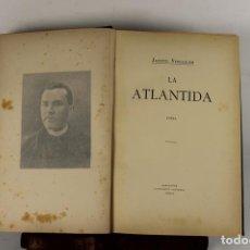 Libros antiguos: 5236- LA ATLANTIDA. JACINTO VERDAGUER. EDIT. ILUSTRACIO CATALANA. 1906.. Lote 167916685