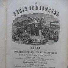 Libros antiguos: LE GÈNIE INDUSTRIEL. TOMO 23. ARMENGOUD FRÈRES PARIS 1862. Lote 64188711