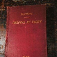 Libros antiguos: MOISSENET, LOUIS. THEORIE DU YACHT. PARIS, BAUDRY, 1898, DISEÑO YATES. Lote 64209875