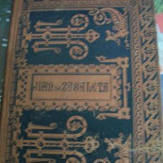 Libros antiguos: DIA DE FIESTA POR LA MAÑANA Y POR LA TARDE. JUAN DE ZABALETA. AÑO 1885. Lote 64617303