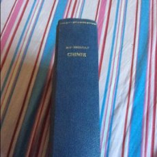 Libros antiguos: CHIMIE M.V. REGNAULT. Lote 64296247