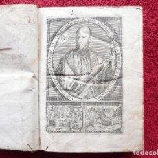 Libros antiguos: ADMIRABLE VIDA DEL VENERABLE PADRE FRANCISCO DE GERONYMO. ANTONIO DE FRIAS. 1758. JOAQUIN IBARRA.. Lote 64918699