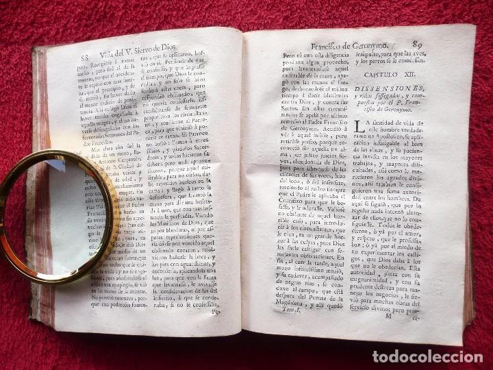 Libros antiguos: ADMIRABLE VIDA DEL VENERABLE PADRE FRANCISCO DE GERONYMO. ANTONIO DE FRIAS. 1758. JOAQUIN IBARRA. - Foto 12 - 64918699