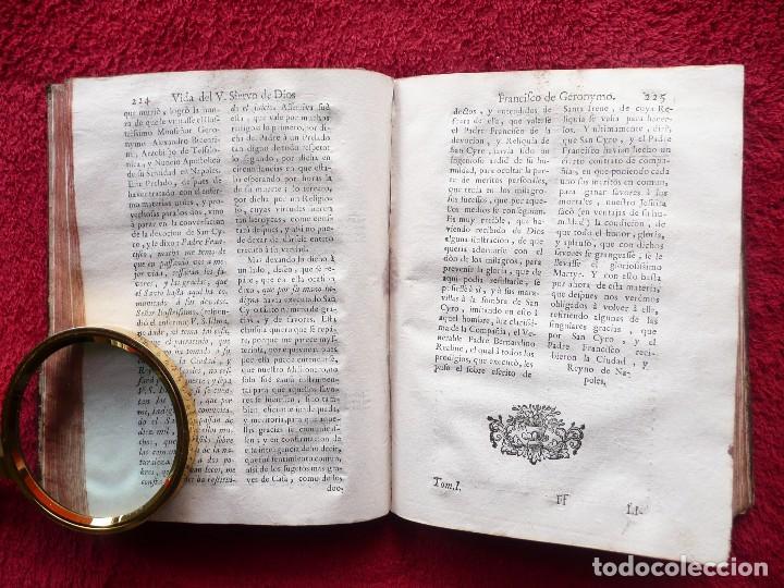 Libros antiguos: ADMIRABLE VIDA DEL VENERABLE PADRE FRANCISCO DE GERONYMO. ANTONIO DE FRIAS. 1758. JOAQUIN IBARRA. - Foto 14 - 64918699