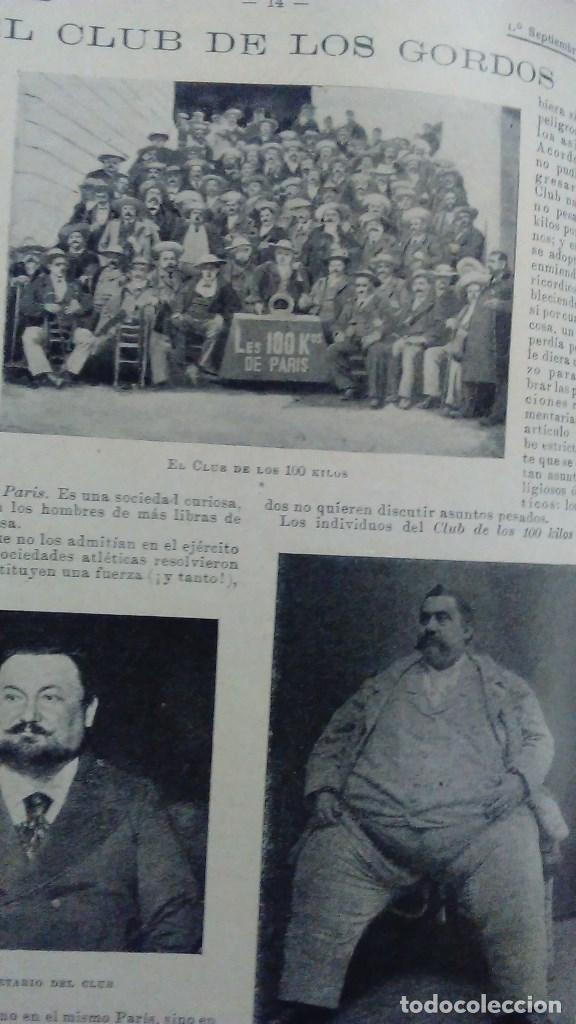 Libros antiguos: Cuatro tomos encuadernados de la antigua revista Alrededor del mundo ( años 1899, 1901, 1904,1908) - Foto 7 - 64929183