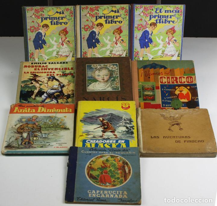 8145 - LOTE DE 10 EJEMPLARES. (VER DESCRIPCIÓN). VV. AA. VARIAS EDITORIALES. 1936/1965. (Libros Antiguos, Raros y Curiosos - Literatura Infantil y Juvenil - Otros)