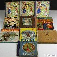 Libros antiguos: 8145 - LOTE DE 10 EJEMPLARES. (VER DESCRIPCIÓN). VV. AA. VARIAS EDITORIALES. 1936/1965.. Lote 65245251