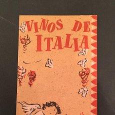 Libros antiguos: MARIO TOPI - VINOS DE ITALIA - DICCIONARIO DE LOS VINOS TINTOS & BLANCOS - ENIT - ROMA. Lote 65253195