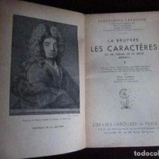 Libros antiguos: CLASSIQUES LAROUSSE, PARIS 1910- 2ª EDICION, 3 VOL. Lote 65422571