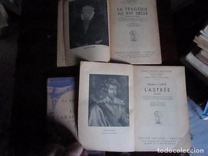Libros antiguos: Classiques Larousse, Paris 1910- 2ª edicion, 3 vol - Foto 3 - 65422571