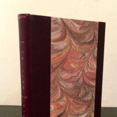 Libros antiguos: EROTICA - COLETTE: LES VRILLES DE LA VIGNE. ILLUSTRATIONS DE RENÉ LELONG - LESBIANAS - GAY - 384/983. Lote 65793142