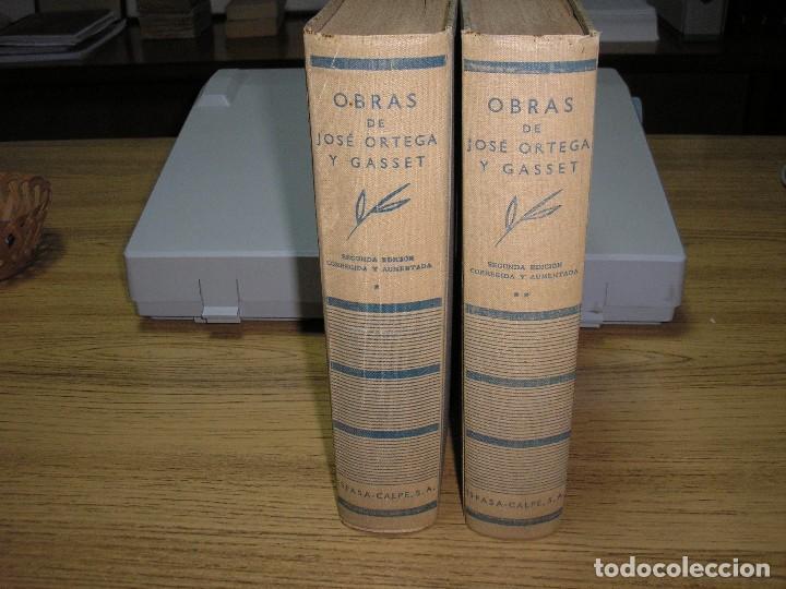 OBRAS DE JOSÉ ORTEGA Y GASSET 2ª ED.-CORREGIDA Y AUMENTADA 1936 (Libros Antiguos, Raros y Curiosos - Literatura - Otros)