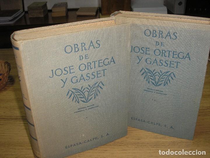 Libros antiguos: OBRAS DE JOSÉ ORTEGA Y GASSET 2ª ED.-CORREGIDA Y AUMENTADA 1936 - Foto 2 - 65882802