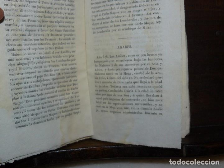 Libros antiguos: COMPENDIO DE LA HISTORIA UNIVERSAL DE ANQUETIL, TOMOS II y III. 1831 - Foto 4 - 65954142