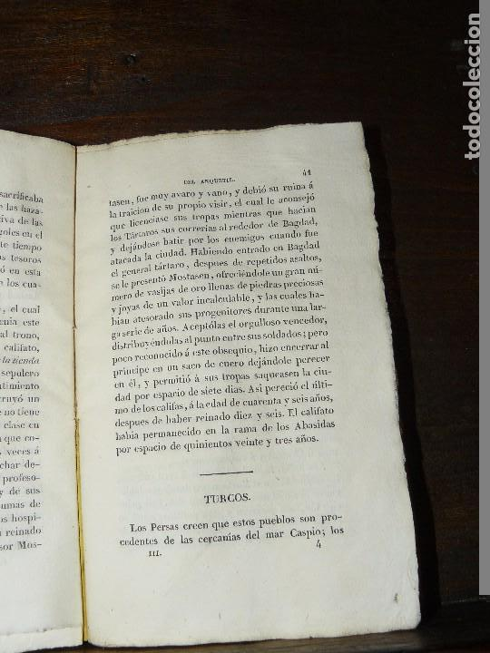 Libros antiguos: COMPENDIO DE LA HISTORIA UNIVERSAL DE ANQUETIL, TOMOS II y III. 1831 - Foto 5 - 65954142