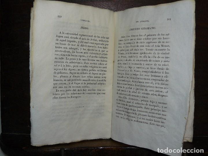 Libros antiguos: COMPENDIO DE LA HISTORIA UNIVERSAL DE ANQUETIL, TOMOS II y III. 1831 - Foto 6 - 65954142